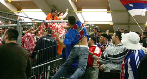 håndball-EM frykter bråk og ballade fra balkanske supportere