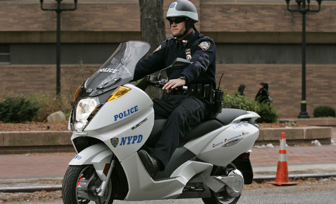motorsykkel politi